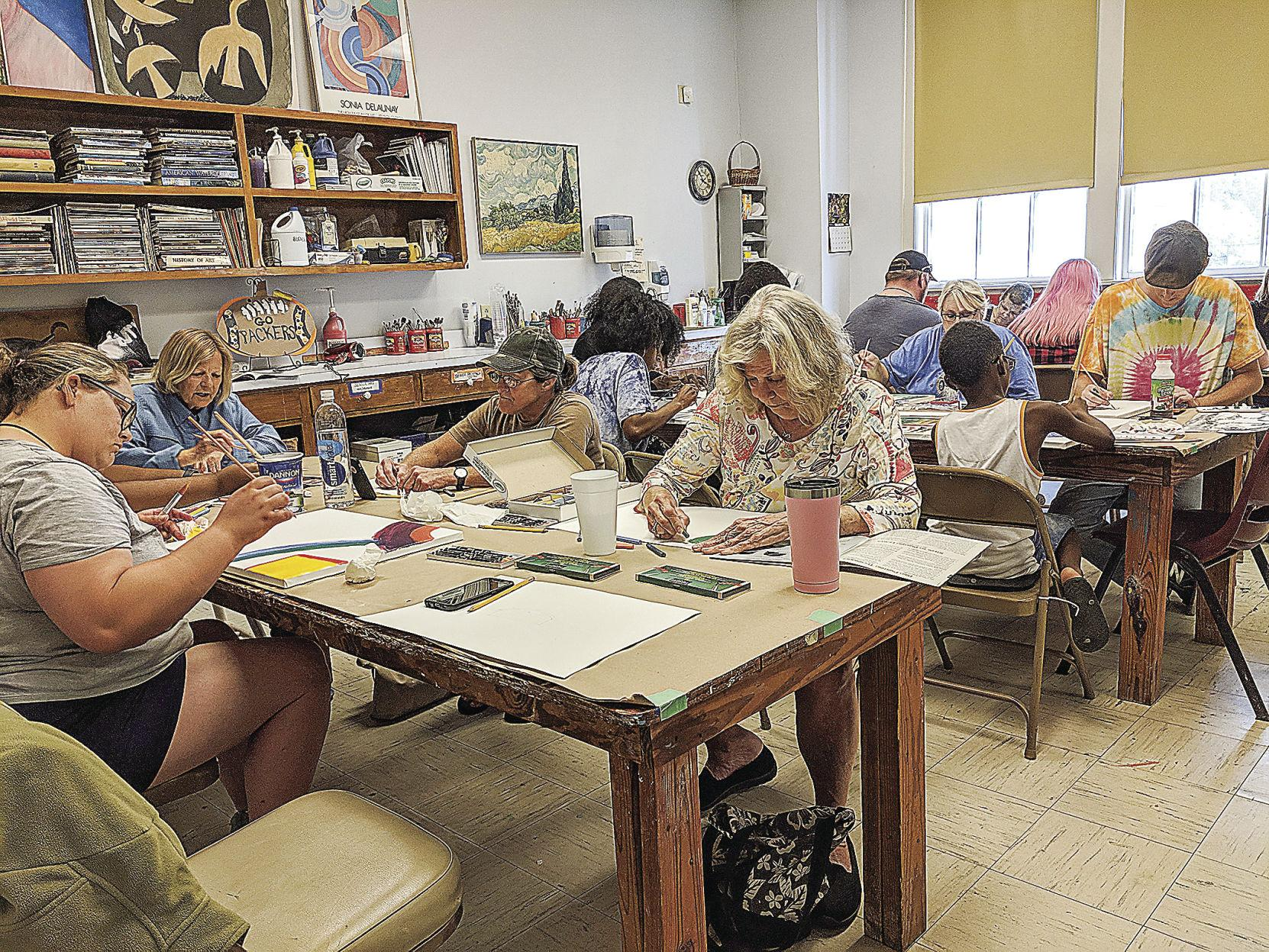 The Colquitt County Arts Center Free Open Studio Day for All