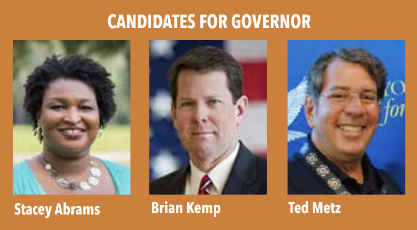 Candidates for Governor