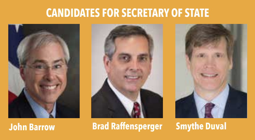 Candidates for Secretary of State