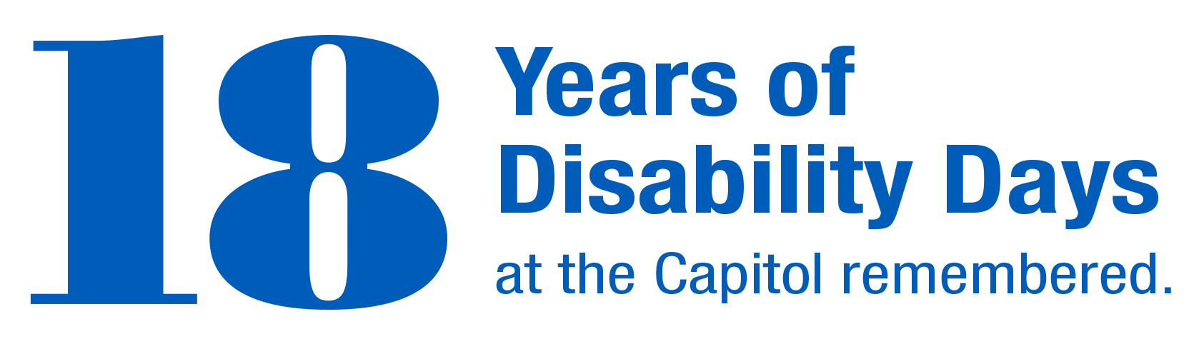 18 Years of Disability Days at the Capitol remembered.