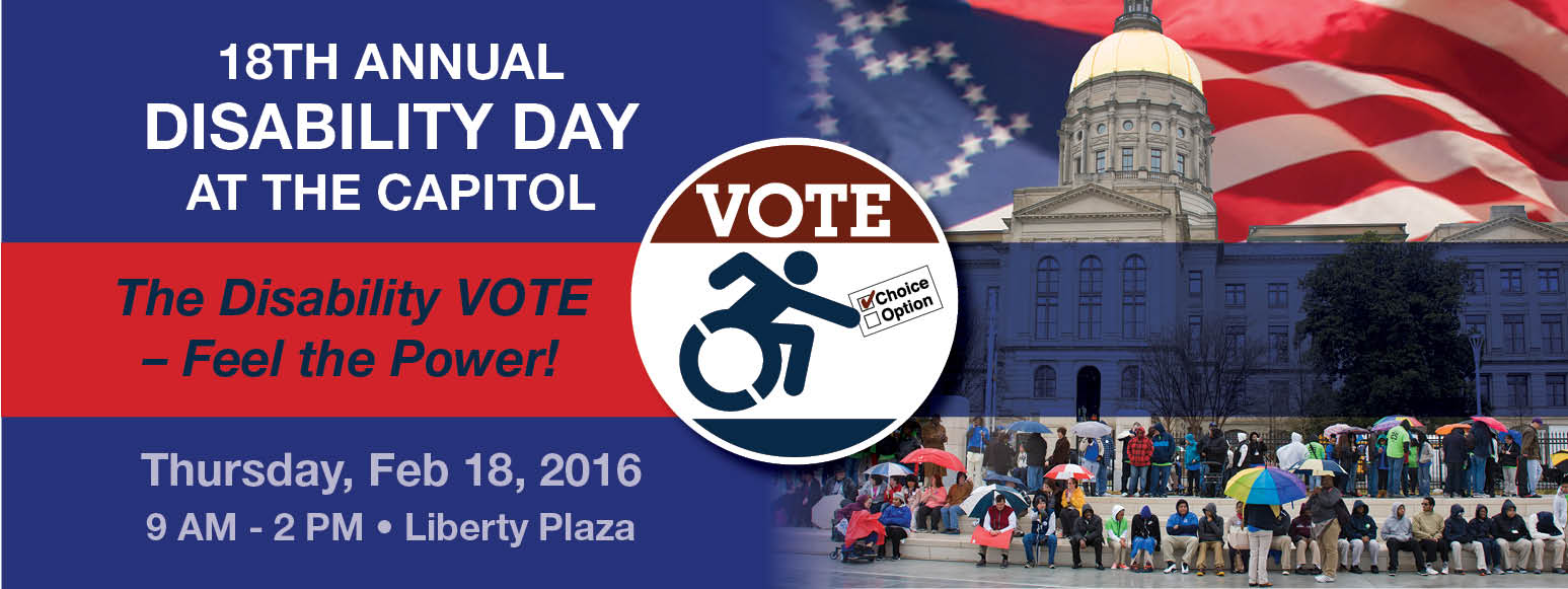 18th Annual GCDD Disability Day at the Capitol, Feb 18, 2016, 9 AM to 2 PM, Liberty Plaza2016