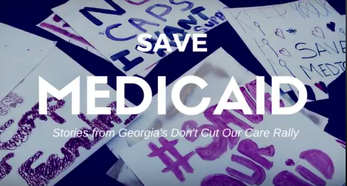 Watch our Save Medicaid Videos