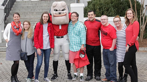 Students in UGA's Destination Dawgs Inclusive post-secondary education program