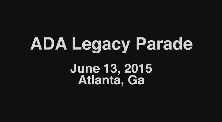 ADA25 Georgia Legacy Parade - Teaser, June 2015